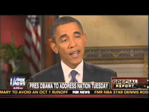 Chris Wallace interviews Barack Obama on Syria September 9 2013