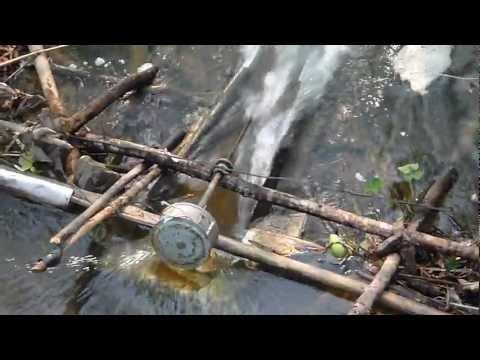 Гидроэлектростанция на ручье своими руками 239
