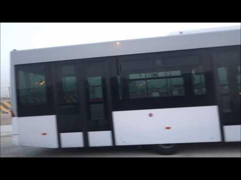 Airport Bus Doha Airport Aerobridge Not Used