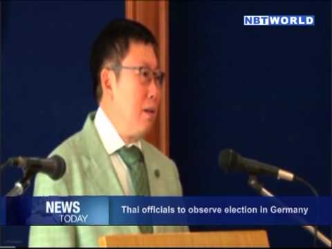 Thai officials to observe election in Germany