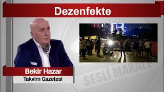 Bekir Hazar     Dezenfekte