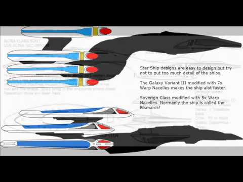 Startrek federation starship design youtube for Wohnung star trek design