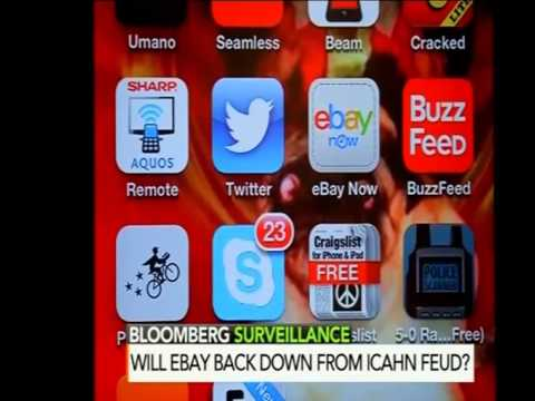 eBay, Paypal, Icahn Discussion