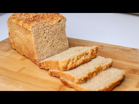 Brown Bread Recipe Without Oven | Homemade Eggless Whole Wheat Bread | Eggless Brown Bread Recipe