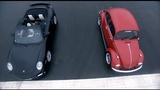Porsche Turbo vs VW Beetle | Top Gear | BBC