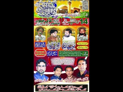 ???? Live Jashan | 14 rajab 2020 | LaL Pur Head Marala Road Sialkot ( www.alajalnetwork.com
