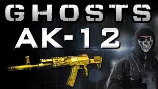 COD Ghosts Gold Guns - AK-12 Assault Rifle (Ghosts Multiplayer Weapon Guide)