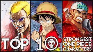 Top 10 Strongest One Piece Characters