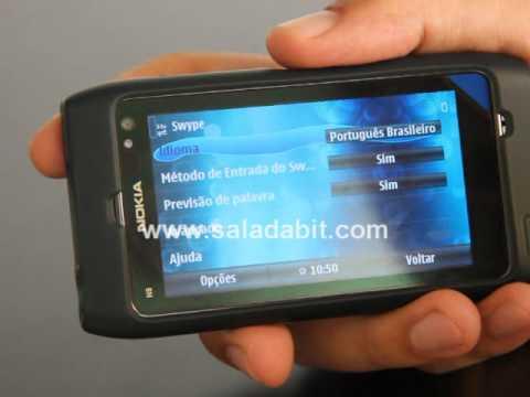 Review - Teclado Swype para Symbian (Nokia N8. N9. C7. E5) e Android. iPhone. iPad e tablets.