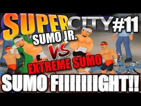MDickie's Super City #11: The World Turns On Extreme Sumo