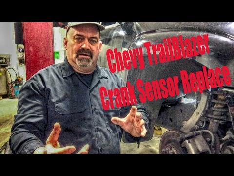 Chevy TrailBlazer Crank Sensor Replace