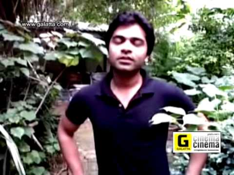 Simbu Talks to Fans about Osthe First Day First Show