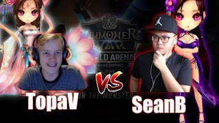 WOLYUNG vs YEONHONG | RTA vs TopaV in Summoners War