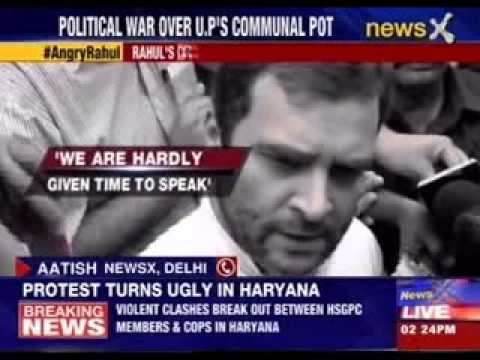 Rahul Gandhi questions speaker's objectivity, calls her partial