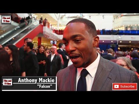 Anthony Mackie Captain America: Civil War European Premiere Interview