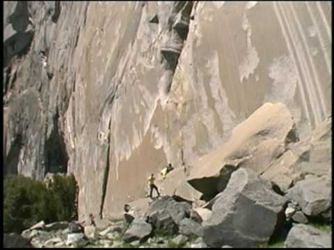 Rock Climbing Rescue, El Capitan, Yosemite, Part 1