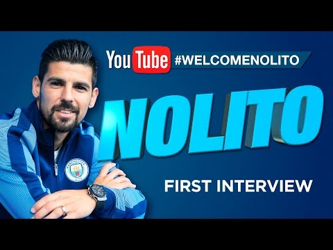 NOLITO SIGNS FOR MAN CITY! | EXCLUSIVE FIRST INTERVIEW