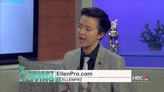 Ellen Lin on NBC Palm Springs Desert Living TV Apperance (NBC Channel)
