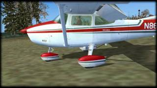 Cessna 182 Landing at SSIC - FS2004