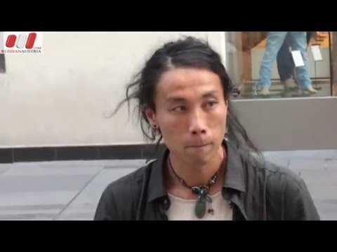 Matsumoto Zoku (Japan). Handpan. Vienna Street Performers by RussianAustria (Full HD)