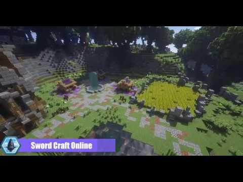 ~[SCO] Sword Art Online in Minecraft [Trailer]