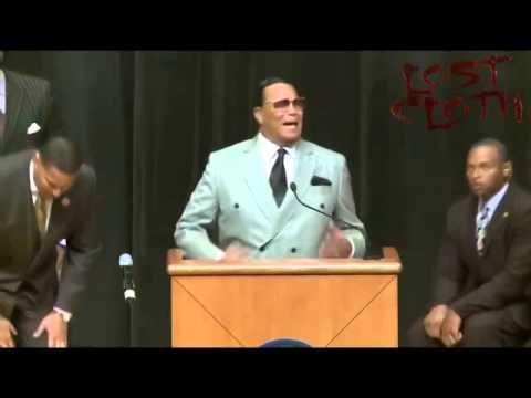 Minister Farrakhan got on Al Sharpton, Jesse Jackson and Obama Head