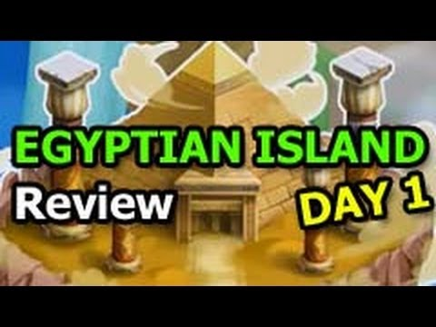 EGYPTIAN ISLAND Dragon City PYRAMID QUEST  How to Play Review DAY 1