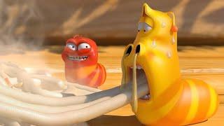 LARVA | FIDEOS PICANTES | 2018 Película Completa | Dibujos animados para niños | WildBrain