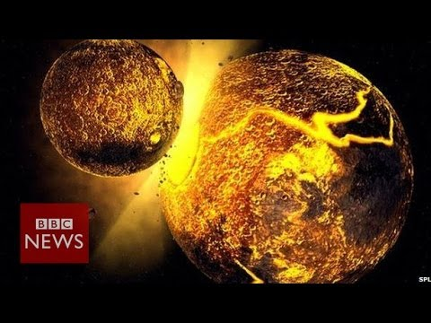 Another world 'crashed' into the Earth to form the Moon - BBC News