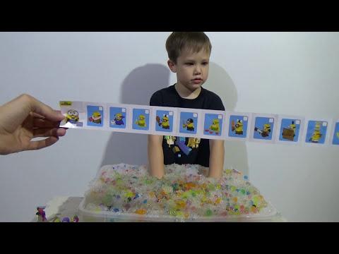 Орбиз сюрпризы игрушки с разноцветными шариками гидрогель Orbeez surprise toys unboxing