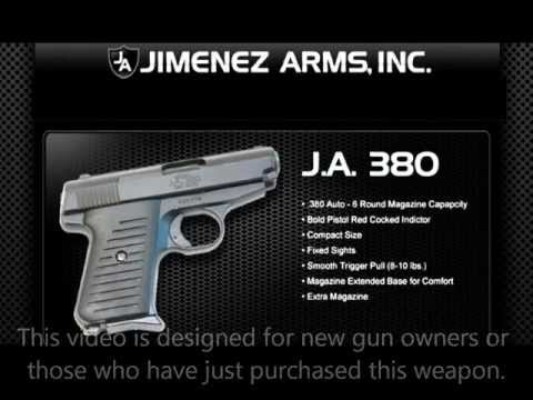 Jimenez Arms JA380 Overview and Takedown Cleaning and Reassembly-Part 1 of 3.wmv