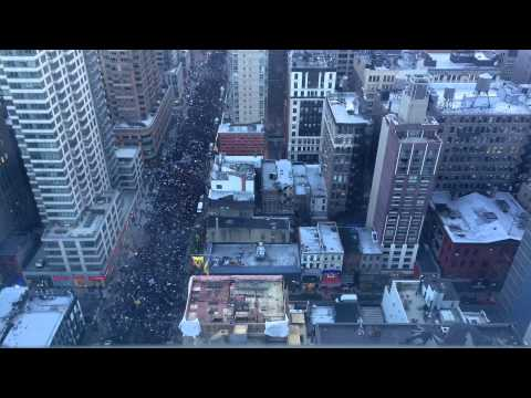 Nas Participates In The Millions March NYC