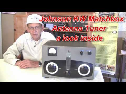 Antenna Tuner Johnson KW Matchbox