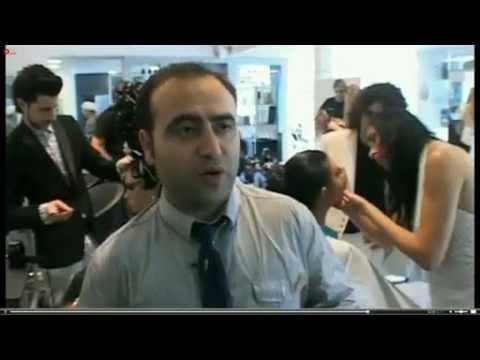 אקדמיה לעיצוב שיער מוטיה רובין הכנות לקראת אליפות העולם מילאנו 2012 - OMC ISRAEL