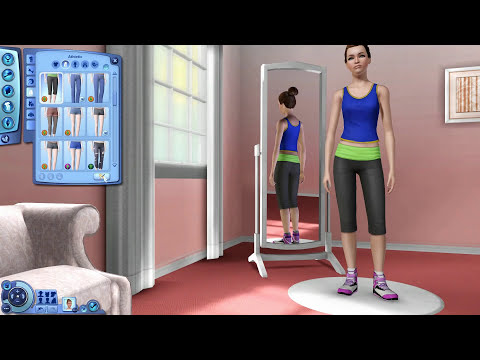 The Sims 3: CAS: CeCe Devine (Happy St. Patrick's Day)