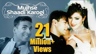 Download Mujhse Shaadi Karogi (2004) - Salman Khan - Priyanka Chopra - Akshay Kumar - Superhit Comedy Film 3Gp Mp4