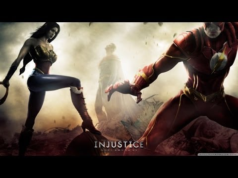 Injustice Gods Among Us - Multiplayer Battles #1 - GHOST VS. JAKE!!