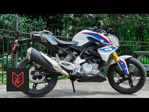 BMW G310R Review at fortnine.ca