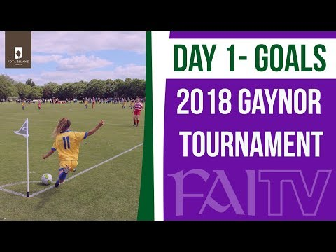 2018 Gaynor Tournament Goals - Day 1