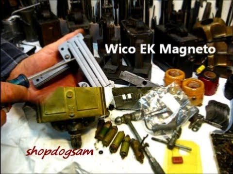Wico EK Magneto Repair magnets / condensers 1of
