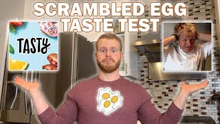 Taste Taste   Tasty vs Gordon Ramsay Scrambled Eggs