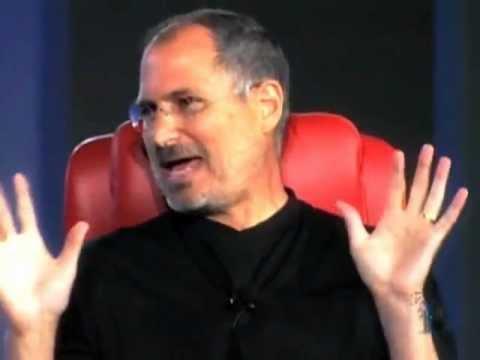 Steve Jobs in 2005 at D3 (Enhanced Quality)