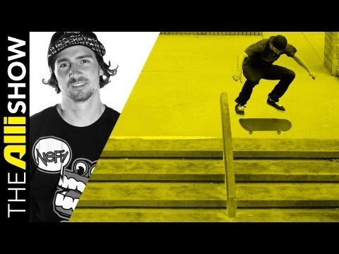 Greg Lutzka Grows from Skate Rat to Top Pro, The Alli Show