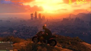 GTA 5 (V) PC GTX 650-FX 6100 high graphics (Gráficos altos)