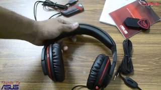 [AR] ASUS ROG ORION PRO Gaming Headset Overview and Unboxing Video @Egypt Hardware