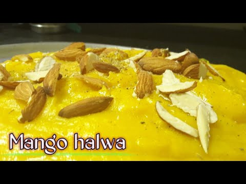 फटाफट कैसे बनाए आम से हलवा|Mango halwa recipe in hindi|How to make mango HALWA|dishes with mango|