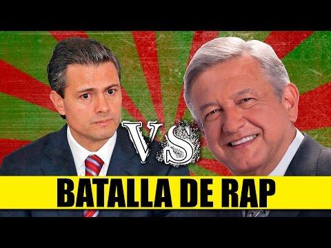 Batalla De Rap: Peña Nieto Vs Amlo | Parodia: Epic Rap Battles Of History | Queparió! video