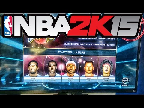 NBA 2K15 - Official Leaked Gameplay Cleveland Cavaliers vs Oklahoma City Thunder