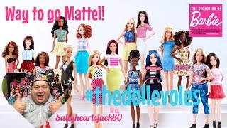 New Barbie Fashionistas,Curvy,Petite,Tall, and Original-My Thoughts On The New Changes To Barbie✨