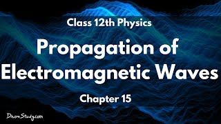 Propagation of Electromagnetic Waves - Communication Systems (Chapter 15): Class 12 Physics
